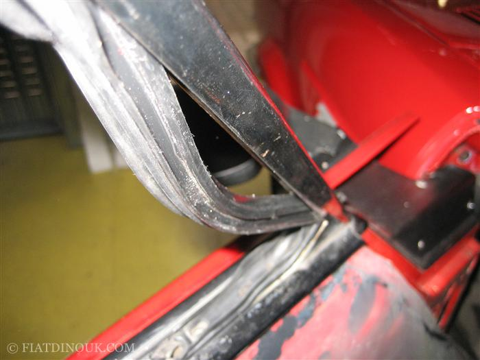 fitting deflector rubber