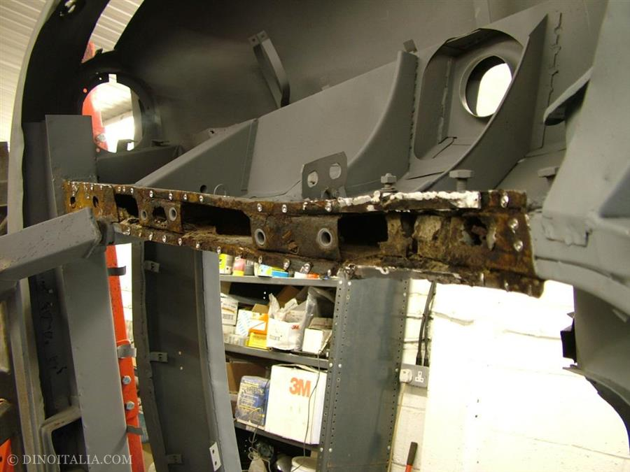 chassis rail lower closing panel