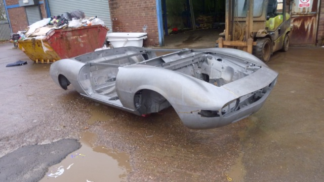 Fiat Dino Spider Dipping