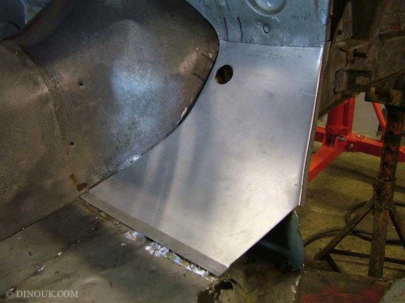 Lower bulk head fabricated