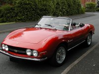 Fiat Dino 2400 Spider BS1319 (pictured), Fiat Dino 2400 Spider BS1562, Fiat Dino 2000 Spider AS726, Brian Boxall, Worcestershire, UK